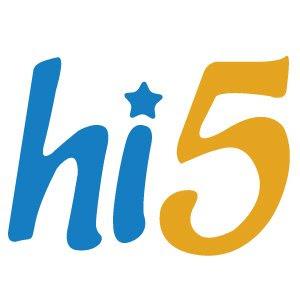 hi5 logo vector