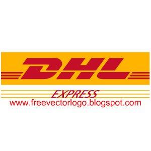 DHL logo vector
