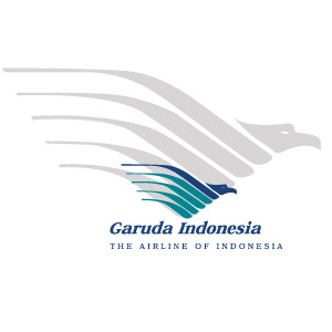 Garuda Indonesia airline logo vector