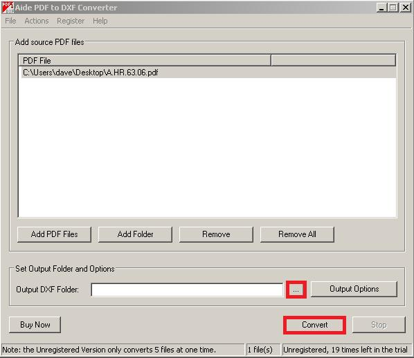 pdf to dxf converter free trial