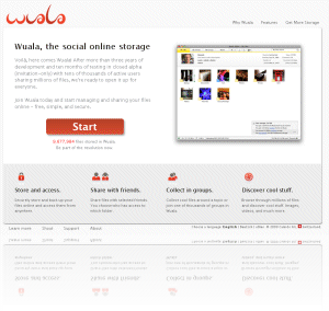 Wuala, the Social Online Storage