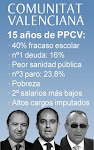 RAZONES PARA NO VOTAR AL PP EN VALENCIA