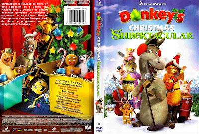 Shrektacular Especial Navideño DVDRip Español Latino