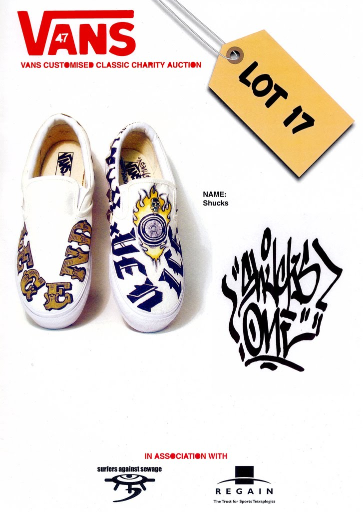 Vans Customised Classic Charity Auction 2004 | Shuck-El-Vision