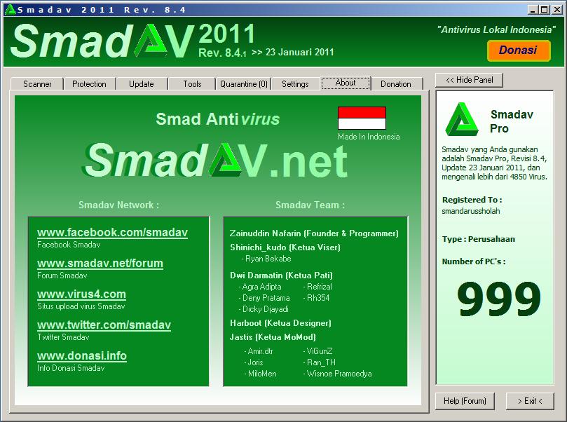 Smandav 2011 Ver 8 4 Serial Kang Helmy Blog