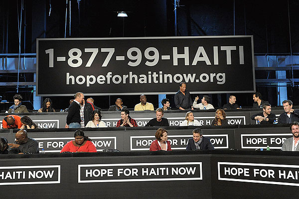 Hope For Haiti Performers Lineup For Live Telecast