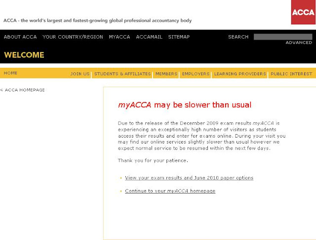 Accaglobal.com Login - Myacca Student Portal