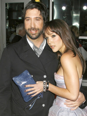 David Schwimmer & Zoe Buckman Engaged