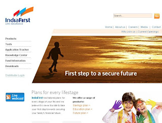Indiafirst Life Insurance Company Website Review (IndiaFirst.com)