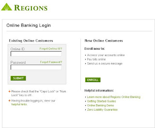Login Guide for Regions.com Online Banking