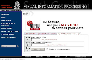 Vip.Sc.Edu - USC VIP Login - University of South Carolina