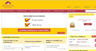 Birla Sun Life Insurance Offers Online Payment at BirlaSunlife.com