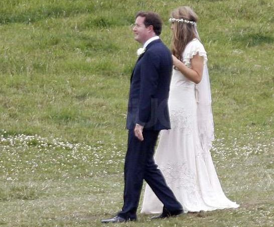 Piers Morgan Marries Girlfriend Celia Walden Today24news