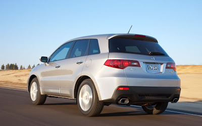 Acura  Review on 2010 Acura Rdx 2wd  Specifications And Review