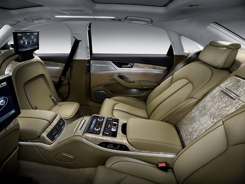audi a8 2011 blogspotcom. 2011 Audi A8 Interior (Back