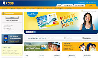 Posb Internet Banking - User Guide for Login and online Payment