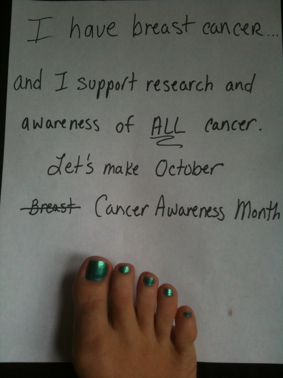 Quotes For Cancer Patients Breast Cancer But Doctori Hate Pink 2010