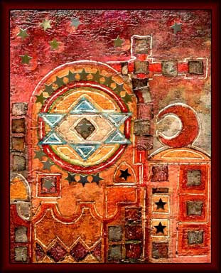 coexistence jewish star ART