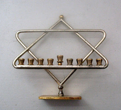 Star of David Chanukiyah-3