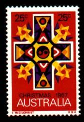 בול אוסטרלי לחג המולד