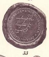 Dresden, Communal Seal jewish star