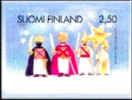 Finland Christmas Postage Stamp