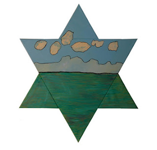Star of David in The Israeli Art Genesis-6