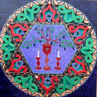 Miriam Mehadipur, Shabat Magen David Israeli art