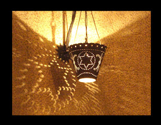 YMCA Lampshade Jerusalem hexagram