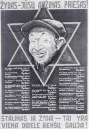 Equating Stalinism And Jews Star of David