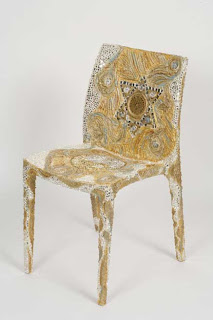 Chair of Plenty magen david israeli art