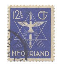 מגן דוד על בול מהולנד