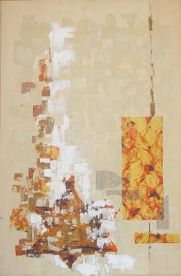 התמונה ובה טלאי צהוב אמנות ישראלית