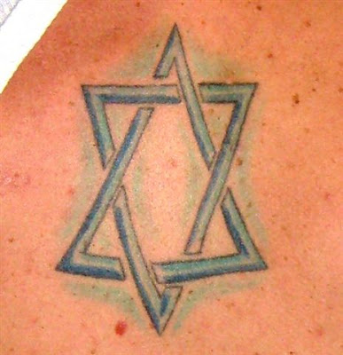 מגן דוד משמש כאבטר