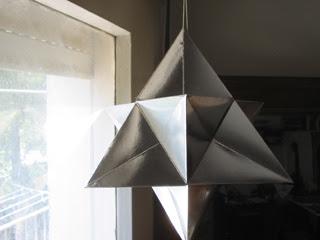 silver david star lantern