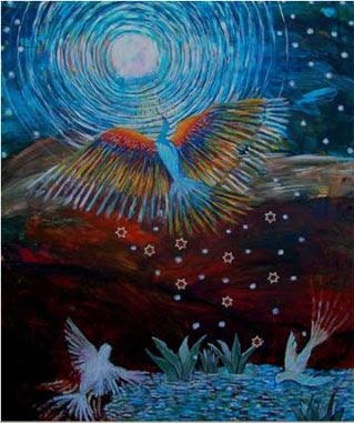Stars of David israeli art