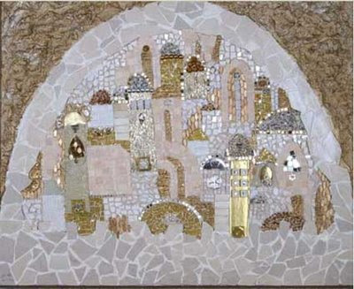 Israeli ART Jerusalem magen david