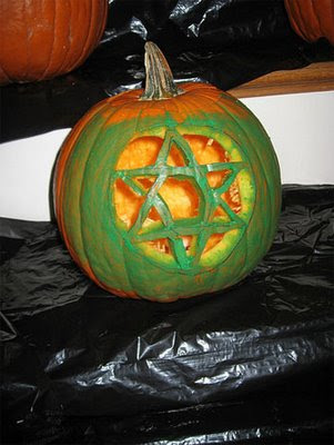 Pumpkin-hexagram