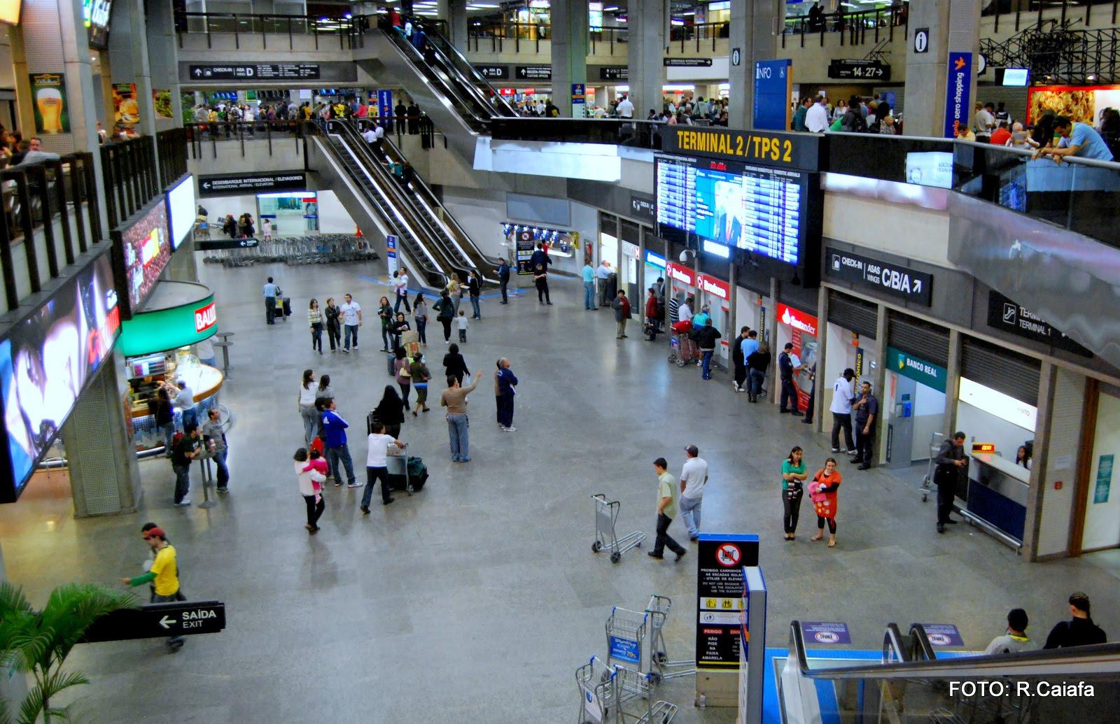 Aeroporto Guarulhos : Aeroporto internacional de guarulhos sp