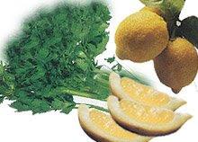 genclik iksiri Karaciğer yağlanması için maydanoz limon kürü: