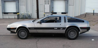 Just A Car Geek: 1981 Delorean - 3800 Miles