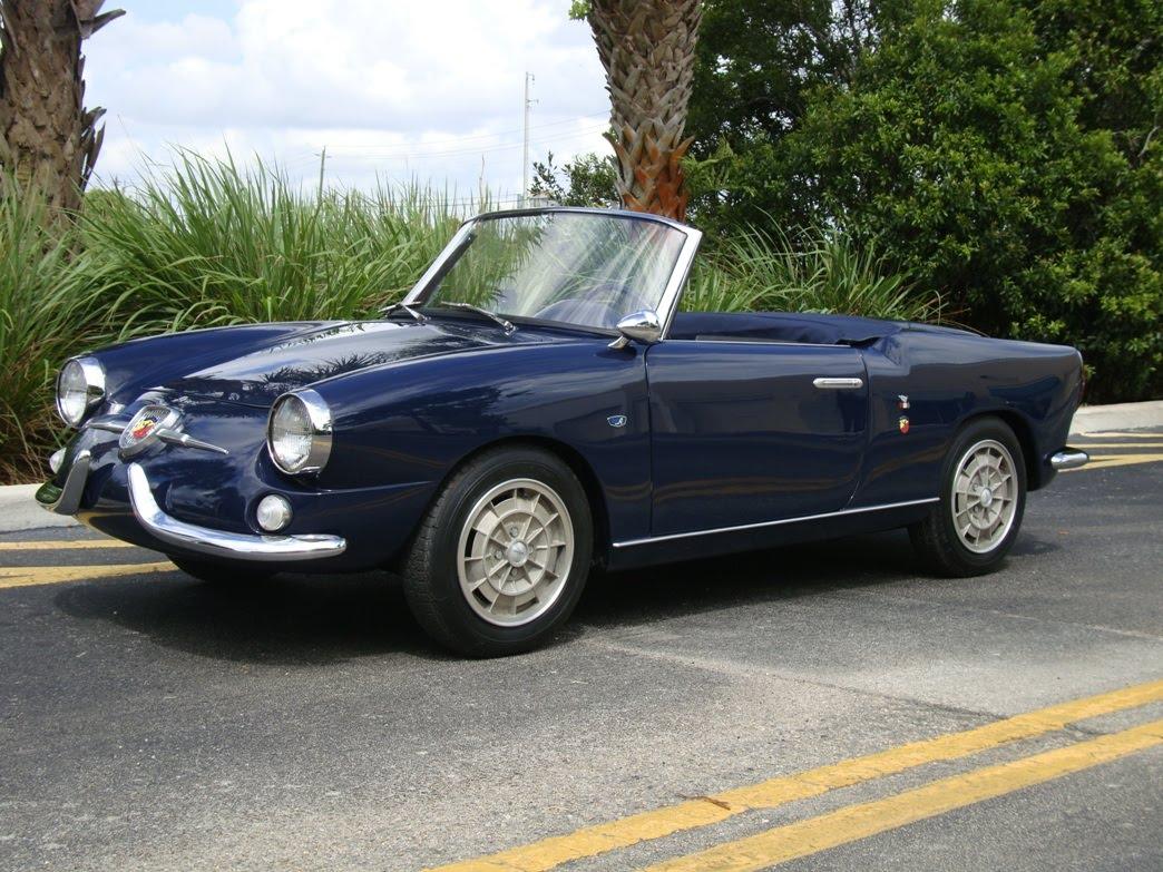 1959 Fiat Abarth 750S Allemano