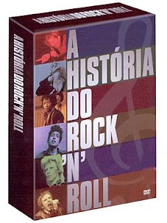 A História do Rock'n'Roll (BOX 5 DVD's) 100261gr