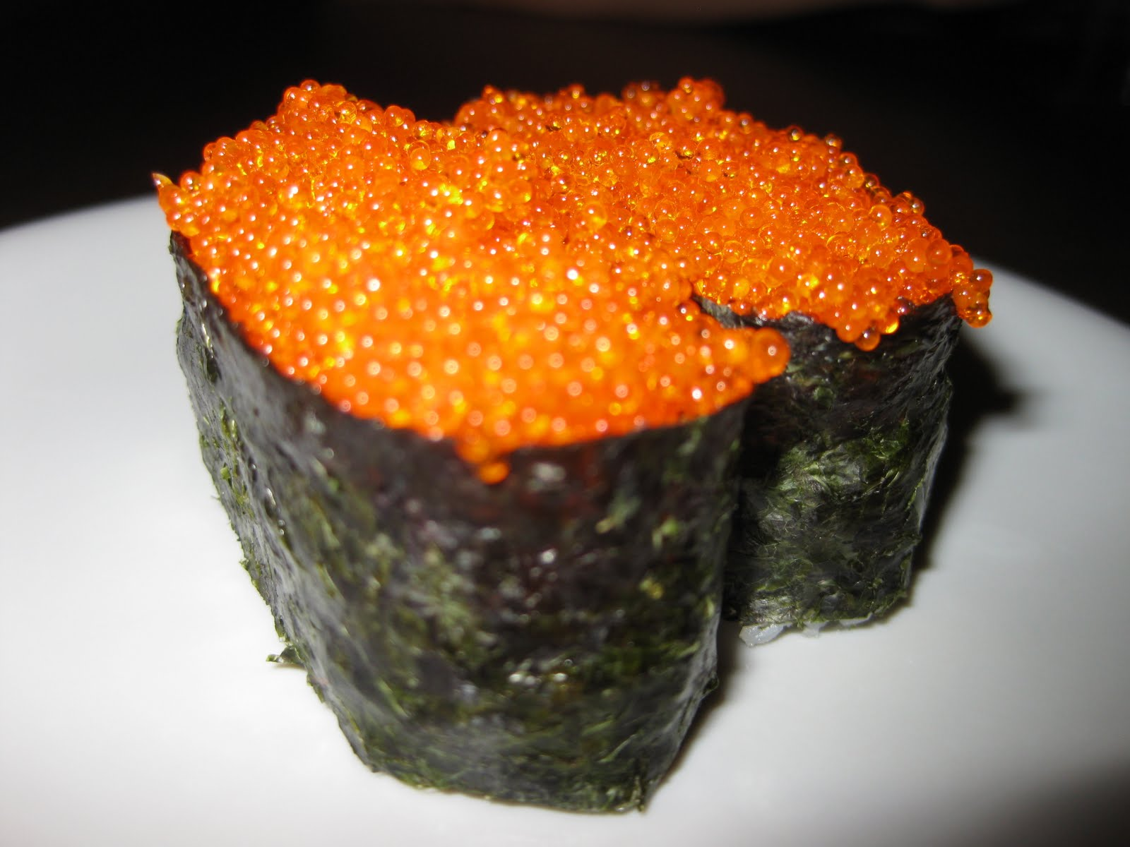 When life isn 39 t what you have expected sushi queen for Fish eggs on sushi