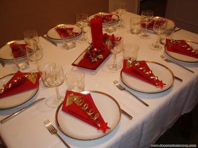 Decoracion de mesas diciembre 2010 - Como preparar la mesa de navidad ...
