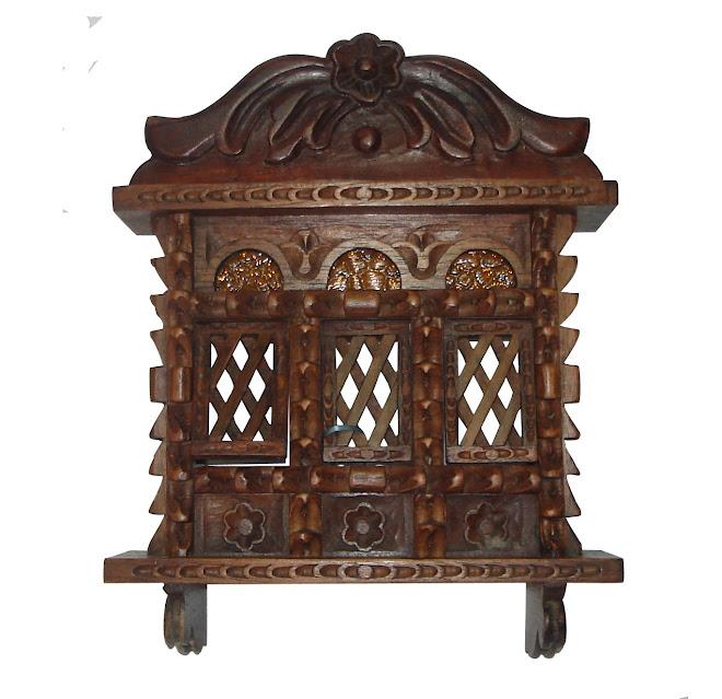 Balcón en madera de cedro