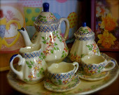 Tea set for play