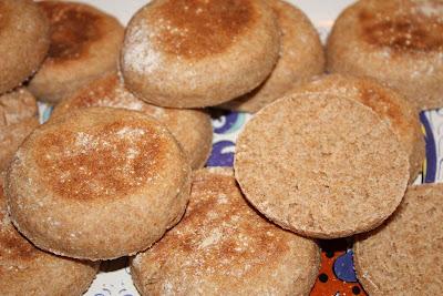 English muffin recipe whole wheat