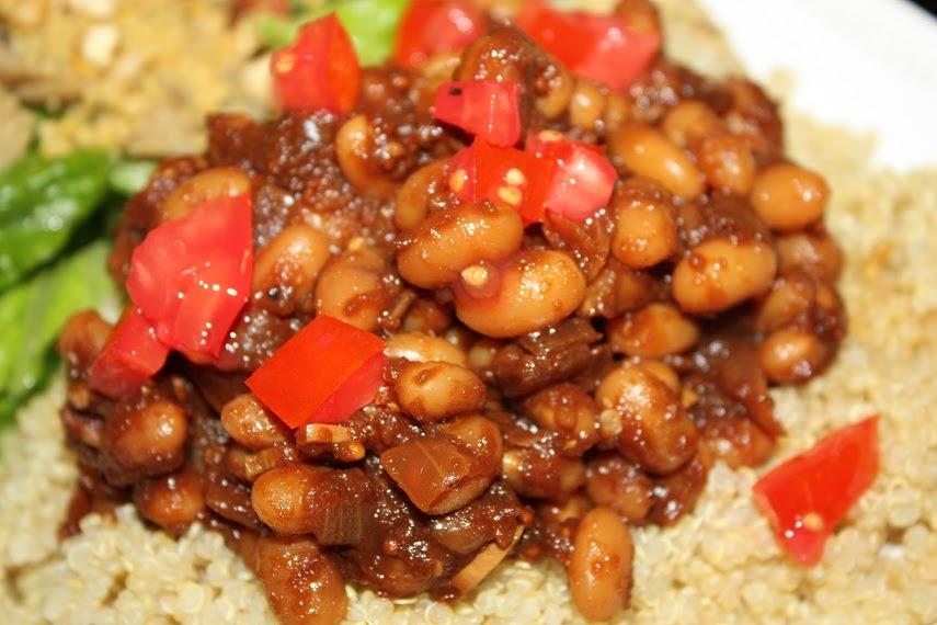 Vegan Epicurean: Stove Top Baked Beans