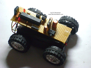 Design With Microcontrollers Ir Remote Controlled Car Pwm Motor
